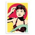 Art-Poster - Audrey Hepburn - Vee Ladwa