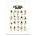 Art-Poster - single ladies - Nour Tohme