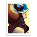 Art-Poster 50 x 70 cm - Helmetraus - Mayka Ienova