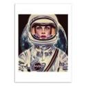 Art-Poster 50 x 70 cm - Le Cosmonaute - Mayka Ienova