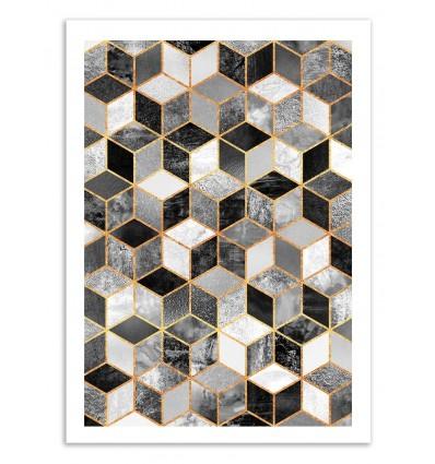 Black and white cubes - Elisabeth Fredriksson