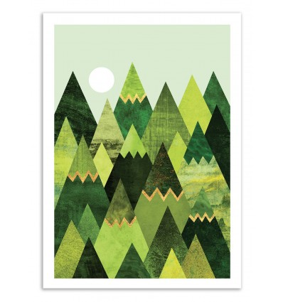 Forest Mountains - Elisabeth Fredriksson