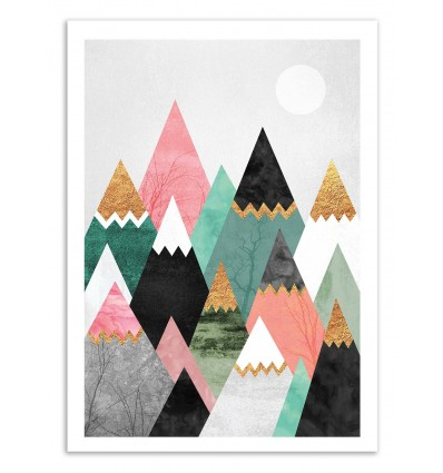 Pretty Mountains - Elisabeth Fredriksson