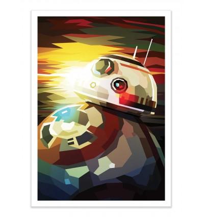 Art-Poster - BB-8 - Liam Brazier