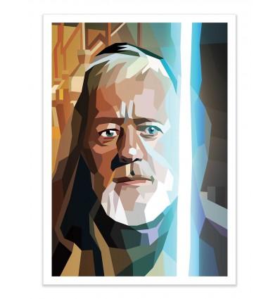 Art-Poster - Obi-wan Kenobi (A new hope) - Liam Brazier