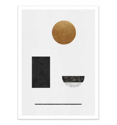 Art-Poster - Abstract Geometric - Tracie Andrews