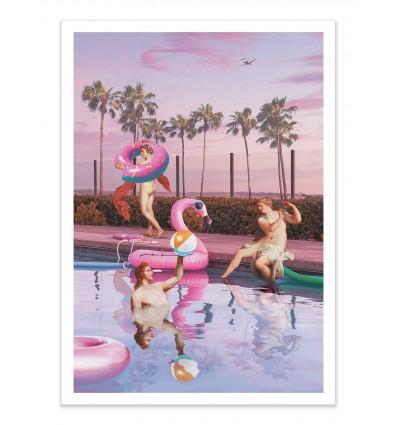 Art-Poster - Pool party - Jonas Loose