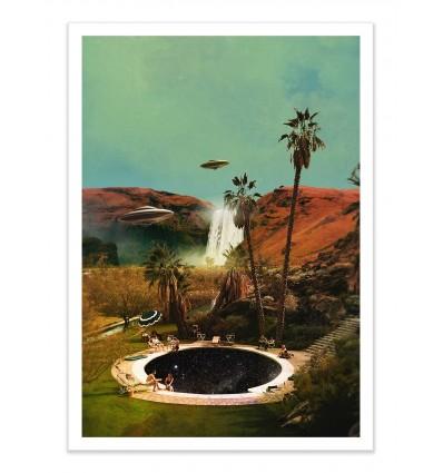 Art-Poster - Guests - La cabeza en las nubes