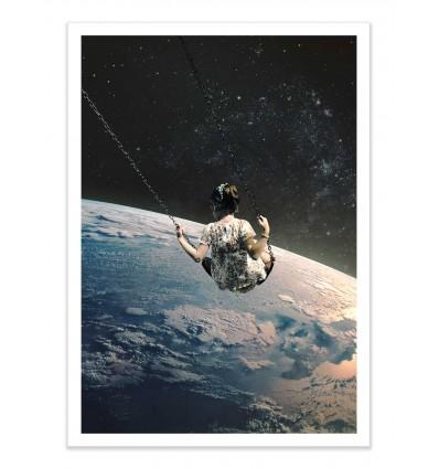 Art-Poster - Swing - La cabeza en las nubes