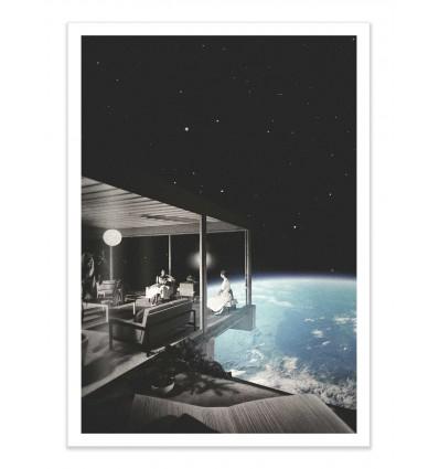 Art-Poster - The view - La cabeza en las nubes