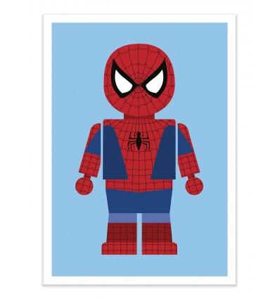 Art-Poster - Spiderman Toy - Rafa Gomes