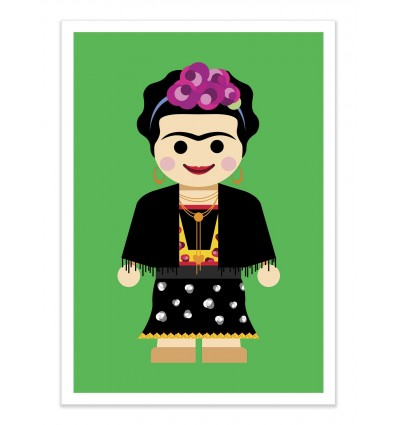 Art-Poster - Frida Toy - Rafa Gomes