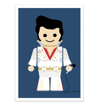 Art-Poster - Elvis Toy - Rafa Gomes