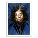 Art-Poster - Bob Marley - Dmitri Belov