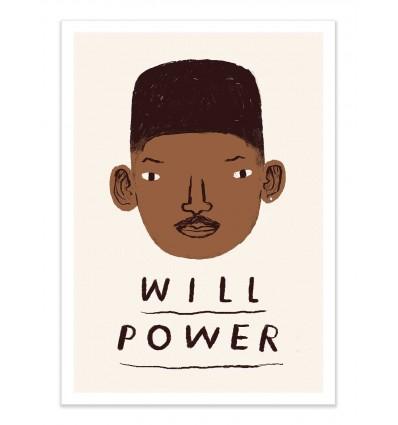 Art-Poster - Will Power - Louis Roskosch
