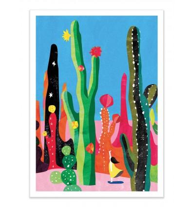 Art-Poster - Cactus - Shihotana