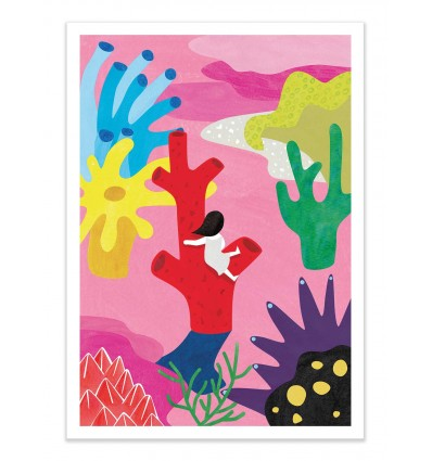 Art-Poster - Coral - Shihotana