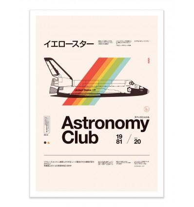 Art-Poster - Astronomy Club - Florent Bodart