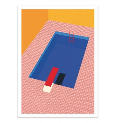 Art-Poster - Backyard Pool - Rosi Feist