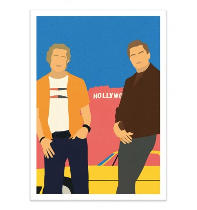 Art-Poster - Cliff and Rick - Rosi Feist
