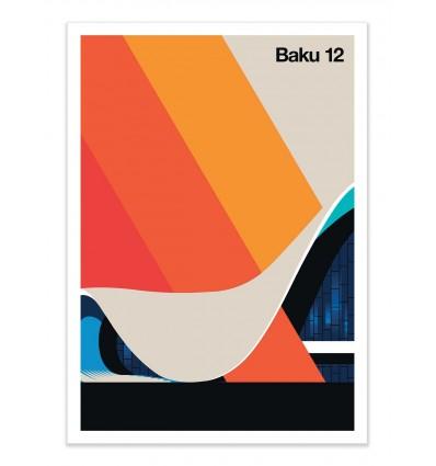 Art-Poster - Baku 12 - Bo Lundberg