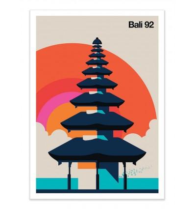 Art-Poster - Bali 92 - Bo Lundberg