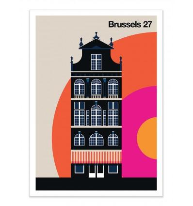 Art-Poster - Brussels 27 - Bo Lundberg