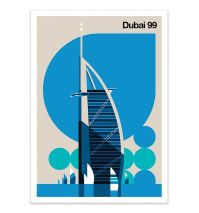 Art-Poster - Dubai 99 - Bo Lundberg
