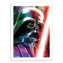 Art-Poster 50 x 70 cm - Darth Vader - Liam Brazier