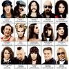 Art-Poster - Legendary Rockstars Singers - Olivier Bourdereau