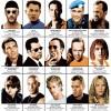 Art-Poster - Legendary Action Movie Heroes - Olivier Bourdereau