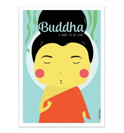 Art-Poster - Buddha - Ninasilla