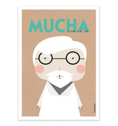 Art-Poster - Mucha - Ninasilla