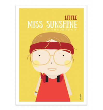 Art-Poster - Little Miss Sunshine - Ninasilla