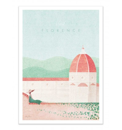 Art-Poster - Visit Florence - Henry Rivers