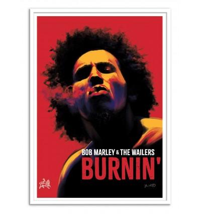 Art-Poster - Bob Marley -  Joshua Budich