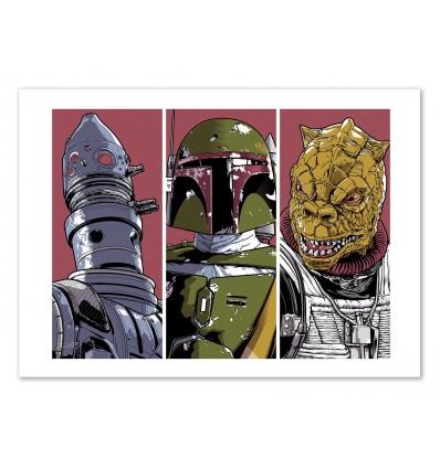 Art-Poster - Bounty Hunters -  Joshua Budich
