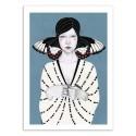 Art-Poster - Mila Butterfly - Sofia Bonati