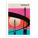Art-Poster - Hamburg 74 - Bo Lundberg