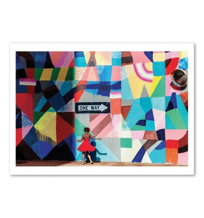 Art-Poster - One way - Gloria Salgado Gispert