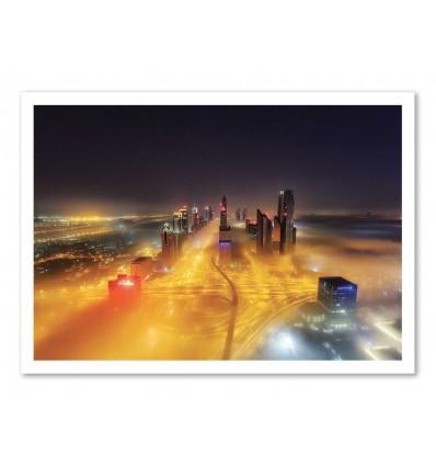 Art-Poster - Fog Invasion - Mohammad  Rustam