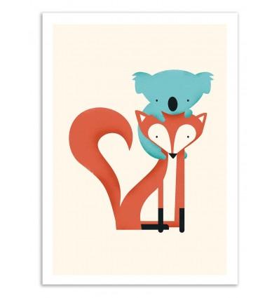 Fox and Koala - Jay Fleck