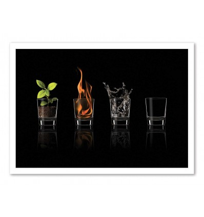 Art-Poster - Elements... - Jose  María Frutos