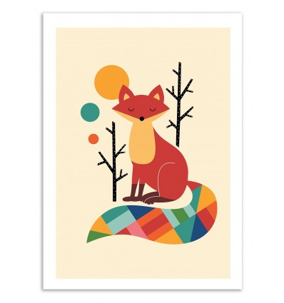 Rainbow Fox - Andy Westface