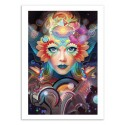 Art-Poster 50 x 70 cm - Know Higher Worlds - Alex Tooth
