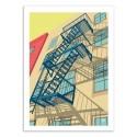 Art-Poster 50 x 70 cm - Greenwich - Remko Heemskerk