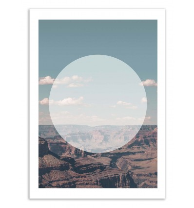 Grand Canyon White Circle - Joe Mania