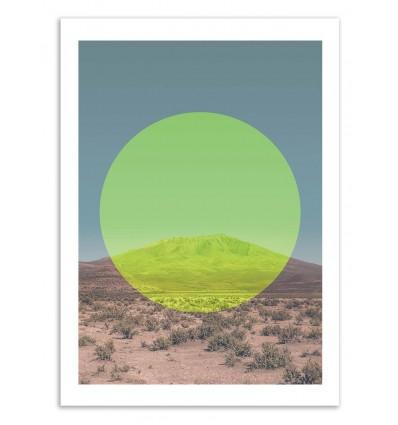 Salar de Uyuni Yellow Circle - Joe Mania