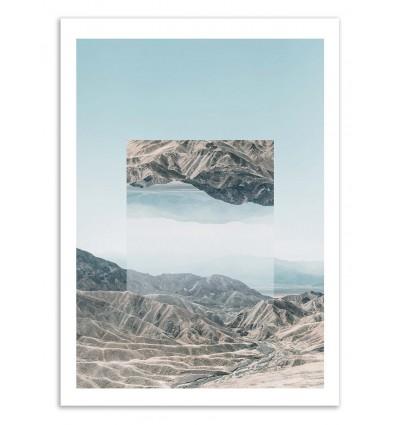 Death Valley Mirrored - Joe Mania