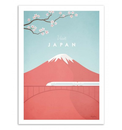Visit Japan - Henry Rivers